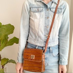 Dooney & Bourke Crossbody Bag Brown Purse Leather